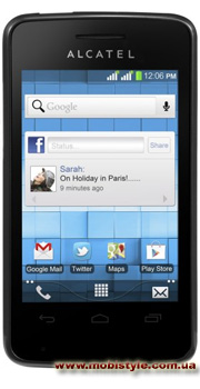 Alcatel 4007D One Touch Pixi