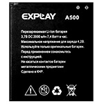 Explay A500 battery