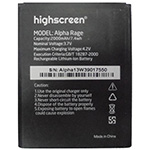 Highscreen Alpha battery