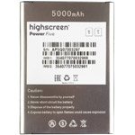 Highscreen Power Five battery