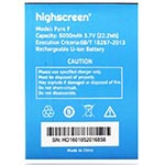 Highscreen Pure F battery