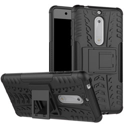 Чехол Heavy Duty Case Nokia 5 black