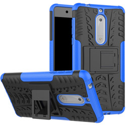 Чехол Heavy Duty Case Nokia 5 blue
