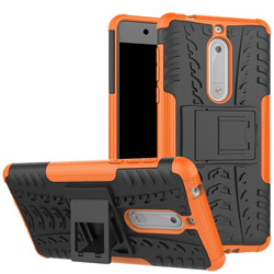 Чехол Heavy Duty Case Nokia 5 orange