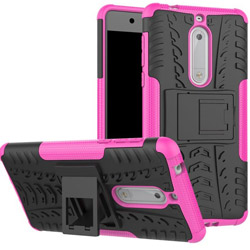 Чехол Heavy Duty Case Nokia 5 rose