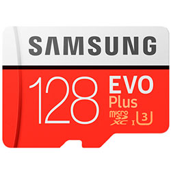 Samsung 128 Gb Evo Plus (U3)