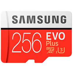 Samsung 256 Gb Evo Plus (U3)