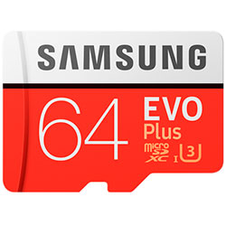 Samsung 64 Gb Evo Plus (U3)