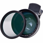 APL-0.63X Wide Angle 12.5X Macro CPL Lens 52 mm