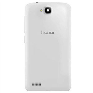Задняя крышка  Huawei Honor 3C Play Edition (белая)
