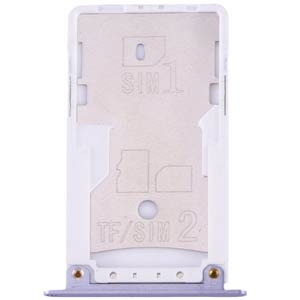 SIM Tray XIAOMI Redmi Note 4X gray