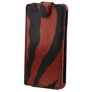 Чехол Flip-Case ZEBRA 06 HTC Wildfire E3